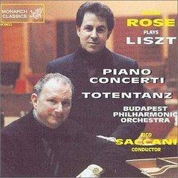 Jerome Rose plays Liszt - Piano Concerti/ Totentanz