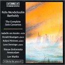 Felix Mendelssohn Bartholdy: Complete Solo Concertos