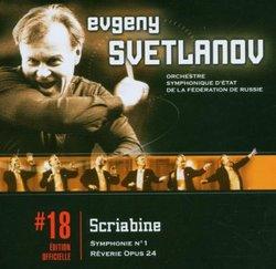 Scriabin: Sym No 1