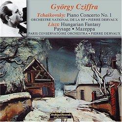 Tchaikovsky: Piano Concerto No. 1; Liszt: Hungarian Fantasy; Paysage; Mazeppa