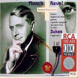 Munch Conducts Ravel & Dukas