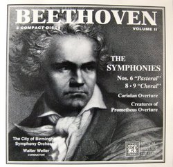 Beethoven: The Complete Symphonies Volume II