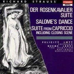 Strauss - Der Rosenkavalier Suite ~ Salome's Dance ~ Suite from Capriccio including Closing Scene / Lott, SNO, Järvi
