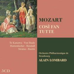 Mozart: Cosi Fan Tutte (Complete)