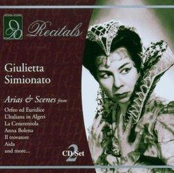Evening With Giulietta Simionato