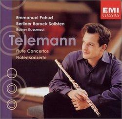 Telemann: Flute Concertos; Emmanuel Pahud