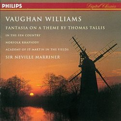 Vaughan Williams: Fantasia on a Theme by Thomas Tallis, In the Fen Country, Norfolk Rhapsody No. 1 in E Minor, The Wasps Overture, Variations for Orchestra, Five Variants of Dives and Lazarus