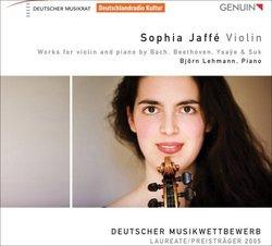 Bach/Beethoven/Ysaye/Suk: Works for Violin & Piano