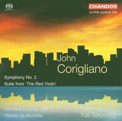 John Corigliano: Symphony No. 2; Suite from 'The Red Violin' [Hybrid SACD]