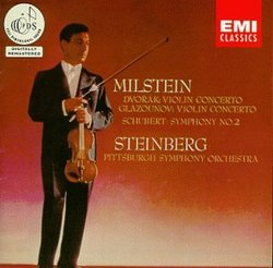 Violin Concerto a Minor / Symphony 2 B Flat Major