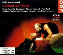 Montemezzi - L'Amore di tre re / Mazzola-Gavazzeni · Rydl · Pyatnychko · Haddock · Fedoseyev