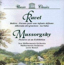 Ravel: Bolero; Pavane; Alborada; La Valse/Mussorgsky: Pictures at an Exhibition