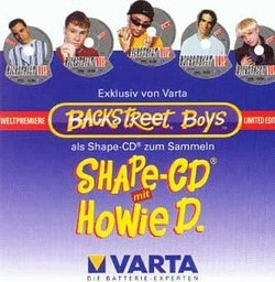 HOWIE D (SHAPED DISC)
