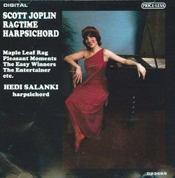 Scott Joplin: 11 Rags on Harpsichord