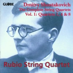 Dmitri Shostakovich: String Quartets Volume 1