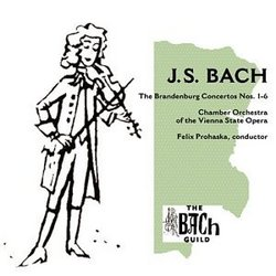 J.S. Bach: The Brandenburg Concertos Nos. 1-6