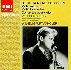 Beethoven, Mendelssohn: Violin Concertos (Violin Concerto in D Major, Op. 61 / Violin Concerto in E Minor, Op. 64)