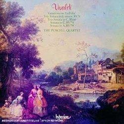 """Vivaldi: Variations on """"La Folia""""; Trio Sonata in G minor, RV74"""
