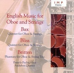 English Music for Oboe & Strings