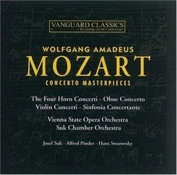 Mozart: Concerto Masterpieces
