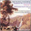 "Mendelssohn: Symphony No.4 ""Italian"" / A Midsummer Night's Dream Suite"