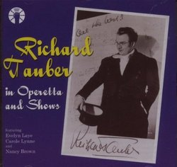 Richard Tauber in Operetta and Shows