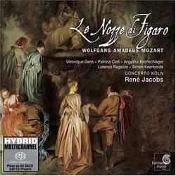Mozart - Le nozze di Figaro / Gens, Ciofi, Kirchschlager, Regazzo, Keenlyside, Concerto Köln, Jacobs [Hybrid SACD]
