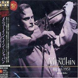 Menuhin In Japan 1951 [Remastered] [Japan]