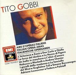 Tito Gobbi - Italian Opera Arias (EMI)
