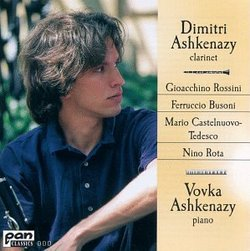 Italian Music for Clarinet & Piano