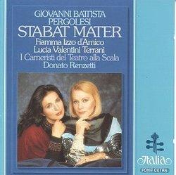 Pergolesi: Stabat Mater / Izzo d'Amico, Valentini-Terrani, Renzetti