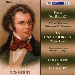 Schubert: The Unauthorised Piano Duets