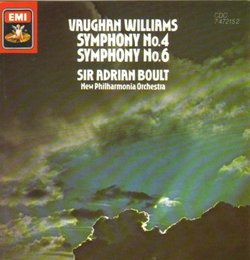 Vaughan Williams: Symphony Nos. 4 & 6