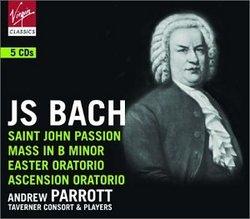 Bach: St. John Passion; Mass in B Minor; Easter Oratorio; Ascension Oratorio [Box Set]