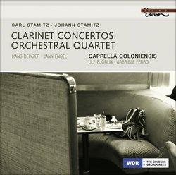 Stamitz: Clarinet Concertos; Orchestral Quartet