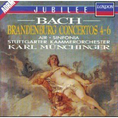 Bach: Brandenburg Concerti 4-6/Brandenburg Concertos 4-6 (Air From Suite No. 3/Sinfonia from the Christmas Oratorio)