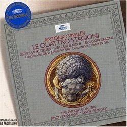 Vivaldi: Le Quattro Stagioni; Concertos, RV 548 & 516