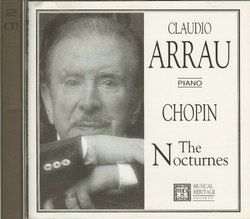Claudio Arrau Piano: Chopin The Nocturnes