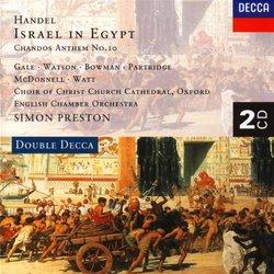 Handel: Israel in Egypt/Chandos Anthem No. 10