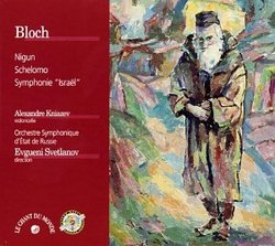Bloch: Nigun (from Baal Shem, orch. Stakevitch); Schelomo, Israel Symphony