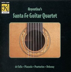 Argentina's Santa Fe Guitar Quartet