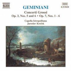 Geminiani: Concerti Grossi Vol. 2 - Op. 3 Nos. 5 & 6, Op. 7 Nos. 1-6