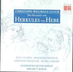 Gluck: The marriage of Hercules and Hebe