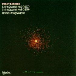 Simpson: String Quartets Nos. 7 & 8