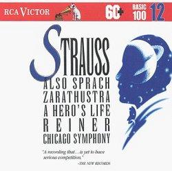 Strauss: Also Sprach Zarathustra; Ein Heldenleben (RCA Victor Basic 100, Vol. 12)