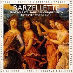 Barzellette, North Italian Frottole of the Early 16th Century