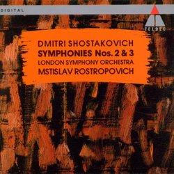 Shostakovich: Symphonies Nos. 2 & 3