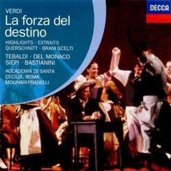 Verdi - La forza del destino / del Monaco · Tebaldi · Siepi · Bastianini · Molinari-Pradelli [Highlights]
