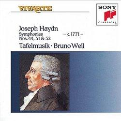 Symphonies 44 & 51-52