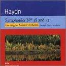 Symphonies 48 & 43